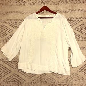 Gap embroidered blouse